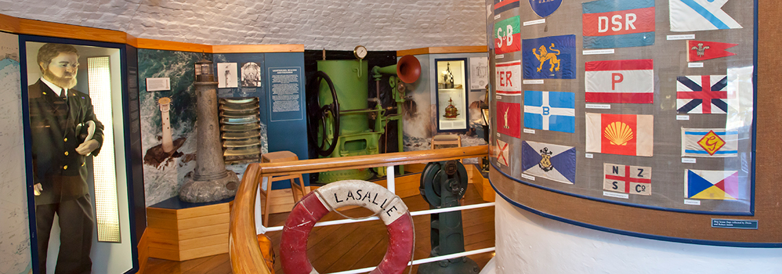 Fort Grey Shipwreck Museum Exhibits