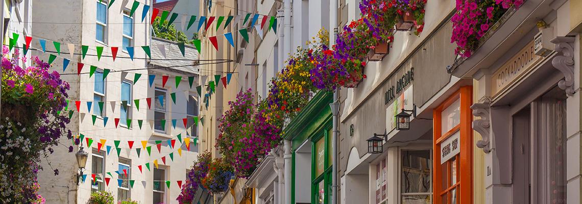 Floral Guernsey