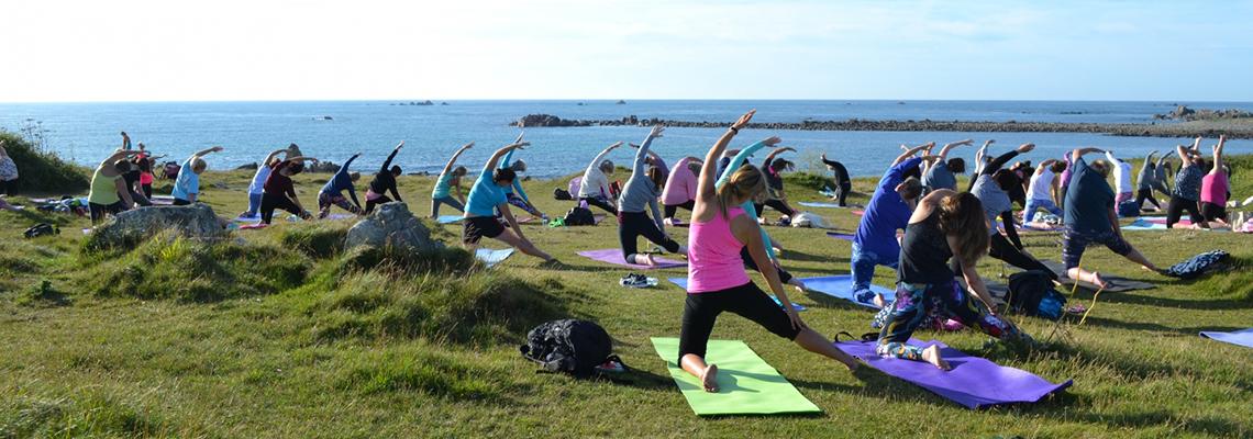 Port Soif Yoga, Guernsey