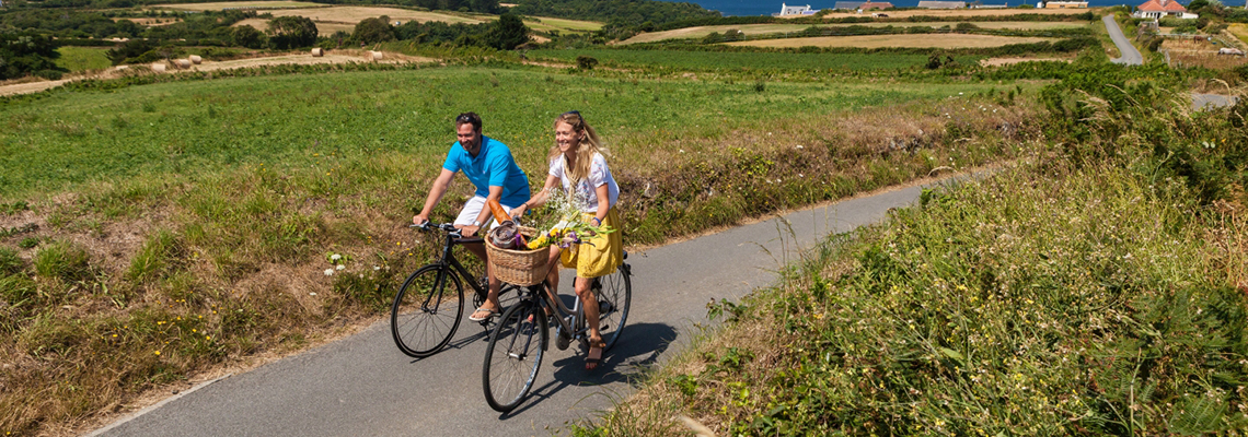 Cycling in Guernsey