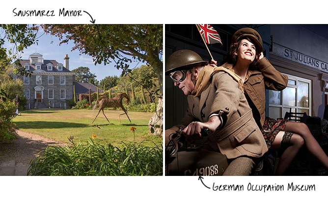 Sausmarez Manor and German Occupation Museum, Guernsey