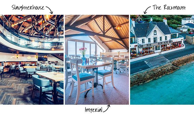 Slaughterhouse, Imperial & Rockmount Restaurants, Guernsey