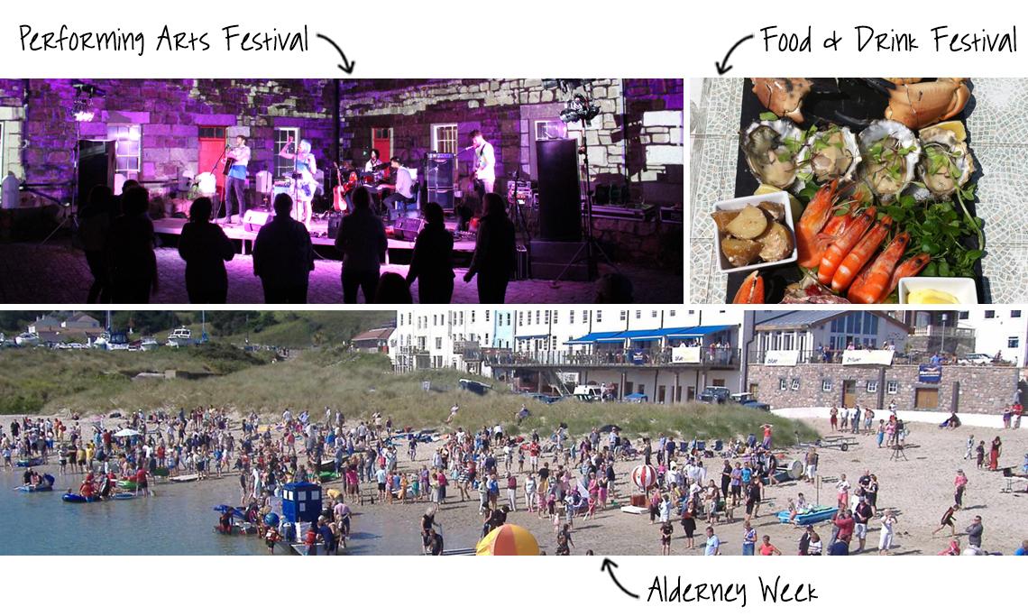 Alderney Festivals