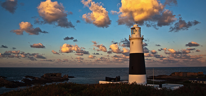 Mannez Lighthouse Alderney