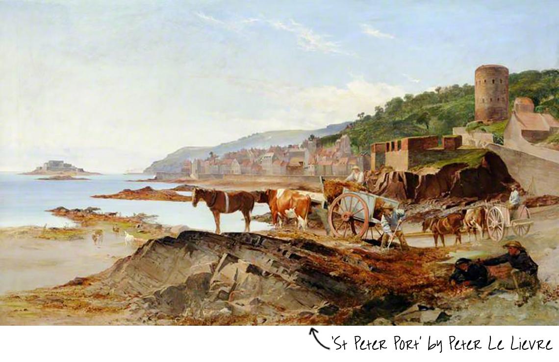 St Peter Port Peter Le Lievre