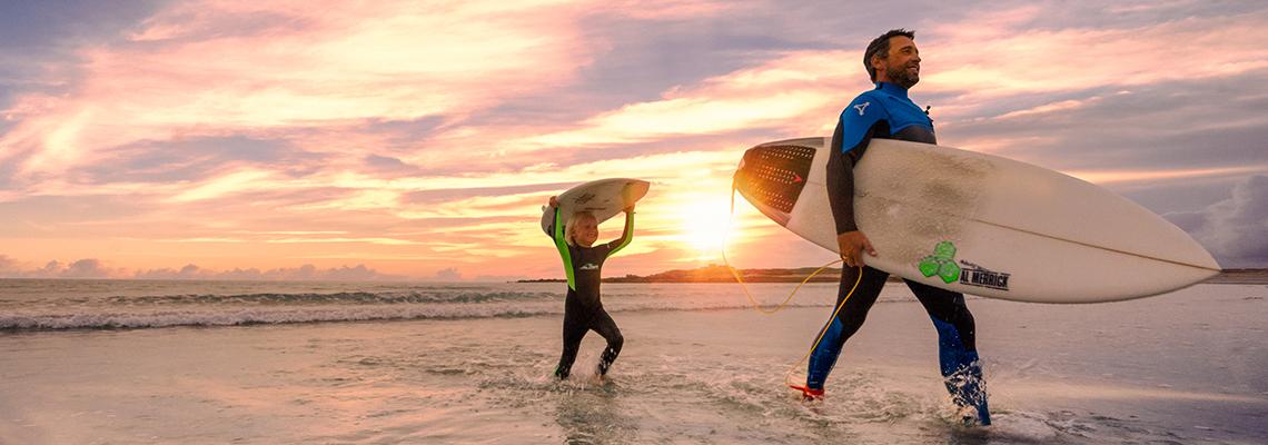 Guernsey Surfing