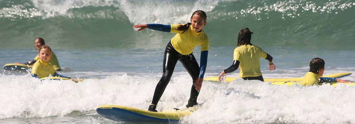 Surf School in Guernsey