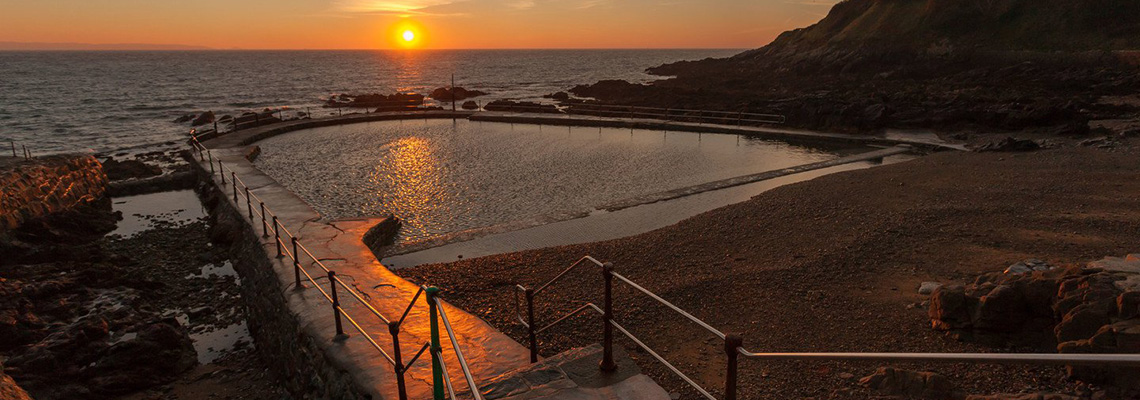 Vallette Bathing Pools, Guernsey