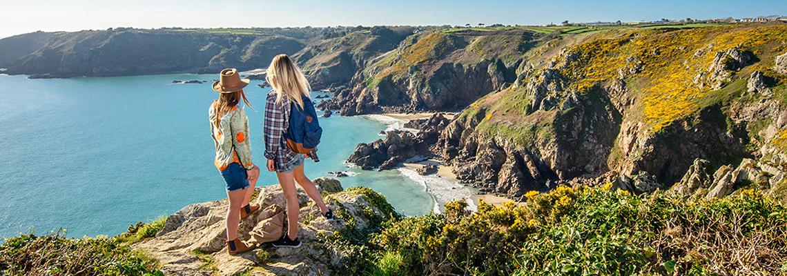 walking Guernsey