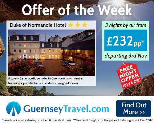 Duke of Normandie Hotel Free Night Offer November