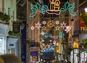 St Peter Port Christmas Lights Switch-On